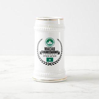 Macau Beer Stein