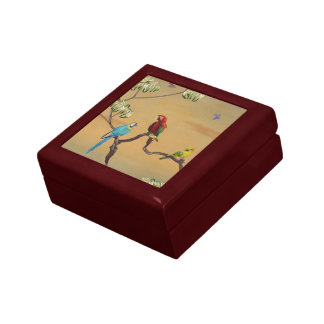 Macau Birds V1 Gift & Jewelry Box