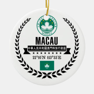 Macau Ceramic Ornament