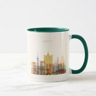 Macau, China | City Skyline Mug