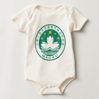 Macau Coat Of Arms Baby Bodysuit