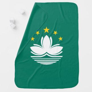 Macau Flag Baby Blanket