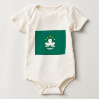 Macau Flag Baby Bodysuit