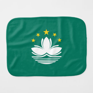 Macau Flag Burp Cloth