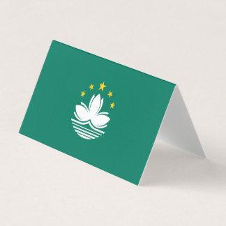 Macau Flag Card