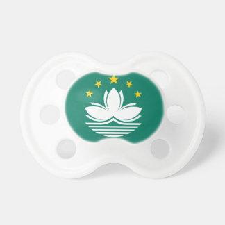 Macau Flag Pacifier