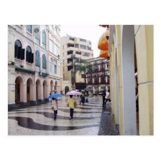 Macau - Historic Centers Postcard
