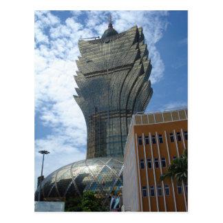Macau - Large Lisboa - Skyscraper Postcard