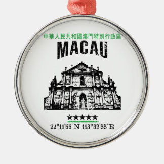 Macau Metal Ornament