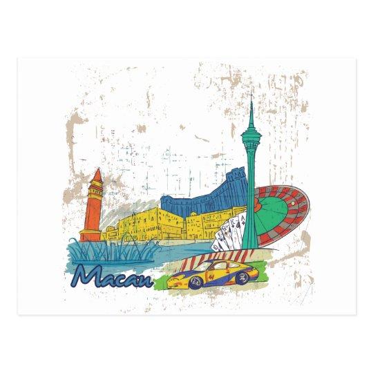 Macau Postcard