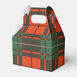 Macaulay clan Plaid Scottish tartan Favor Box