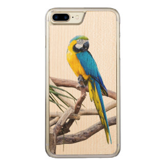 Macaw Iphone 6 Plus Carved iPhone 8 Plus/7 Plus Case