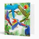 Macaw Jungle Avery Binder