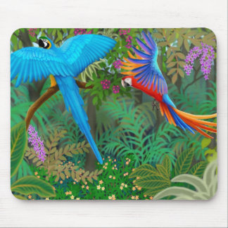 Macaw Jungle Mousepad