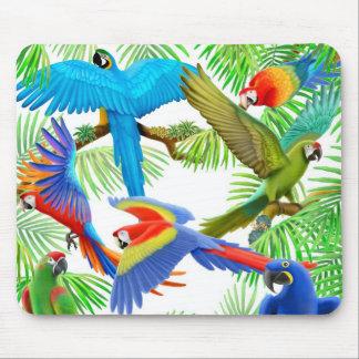 Macaw Jungle Mousepad