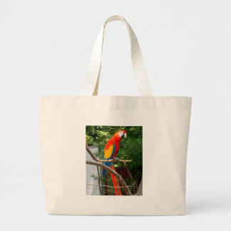 Macaw Large Tote Bag