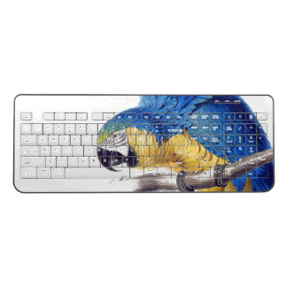 Macaw Parrot Bird Animal Wireless Keyboard