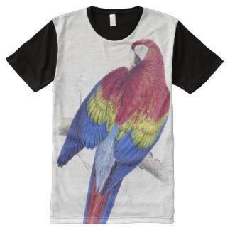 Macaw Parrot Bird Animals Wildlife T-Shirt