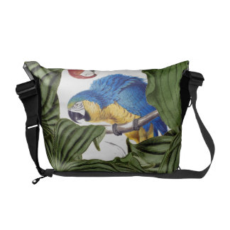 Macaw Parrot Birds Wildlife Animals Messenger Bag