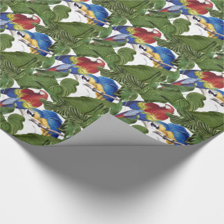 Macaw Parrot Birds Wildlife Wrapping Paper