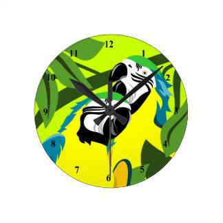 Macaw Parrot Clocks