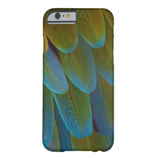 Macaw parrot feather pattern detail barely there iPhone 6 case