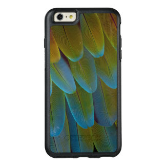 Macaw parrot feather pattern detail OtterBox iPhone 6/6s plus case