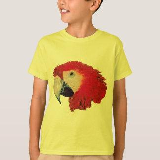 Macaw Parrot Kids T-Shirt