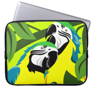 Macaw Parrot Laptop Sleeve