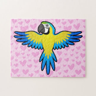 Macaw / Parrot Love Puzzle