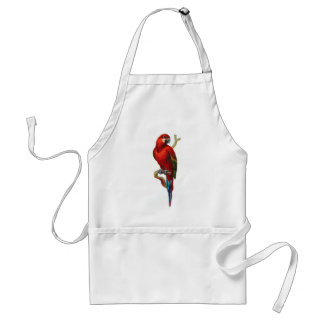 Macaw Red Parrot Standard Apron