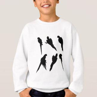 Macaw Silhouette Set Sweatshirt