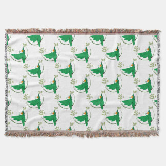 MACAW THROW BLANKET