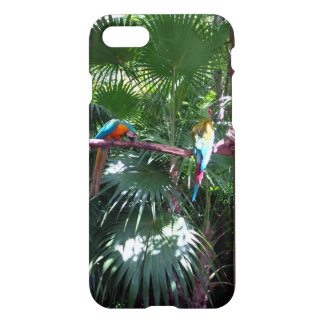 Macaws on Palm Tree iPhone 7 Case