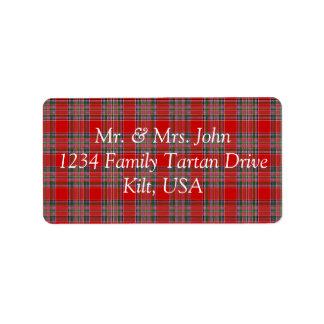 MacBean Tartan Label