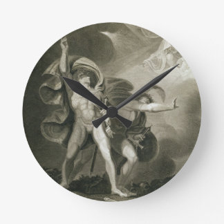 Macbeth, Banquo and the Three Witches on the Heath Wallclock
