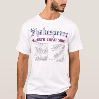 MacBeth Cheat Shirt