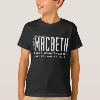 Macbeth - Paper Wing Theatre - Kid's T-Shirt