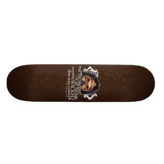 Macbeth Quote Skate Deck