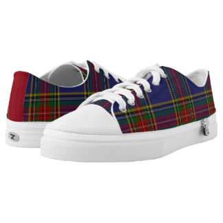 MacBeth Tartan Plaid Tennis Shoes