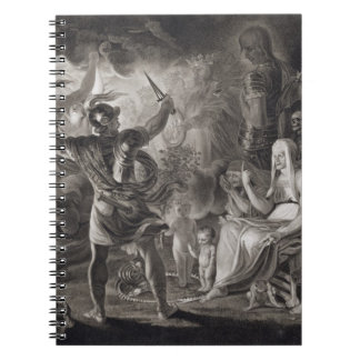 Macbeth, the Three Witches and Hecate in Act IV, S Notebook