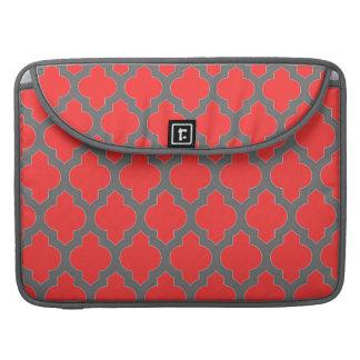 MacBook Pro Sleeve - Red Moroccan