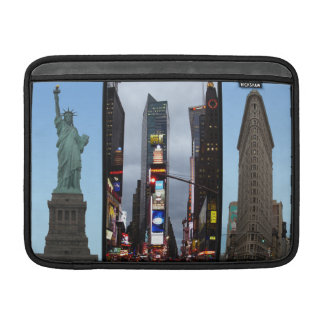 MacBook Sleeve New York Landmarks Souvenir