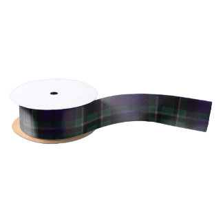 Maccallum clan Plaid Scottish tartan Satin Ribbon