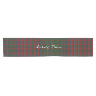 MacClain Clan Tartan Plaid Table Runner