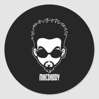 Macdaddy Classic Round Sticker