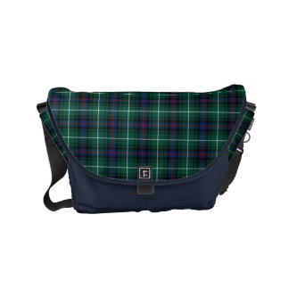 MacDonald Clan Blue and Green Scottish Tartan Commuter Bags