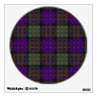 Macdonald Clan Plaid Scottish tartan Wall Sticker