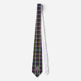 MacDonald Dress Tartan & Celtic Knot Kilt Pin Tie
