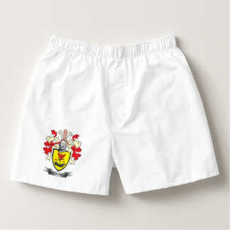 MacDonald Family Crest Coat of Arms Boxers